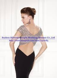 sell luxury beaded black mermaid evening dress dinner