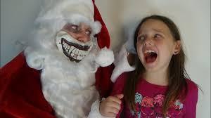 Bad Santa Halloween Costume Bad Santa Attacks Freak Family Annabelle Victoria Daddy Toy Freaks