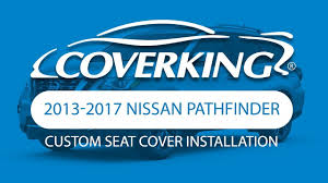 nissan pathfinder leather seats coverking 2013 2017 nissan pathfinder custom seat cover