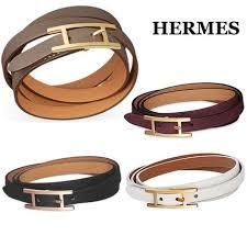 hermes bracelet leather images Hermes leather elegant style bracelets h066194cc18t1 jpg