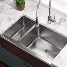 home depot double stainless steel sink farmhouse apron front stainless steel 33 in double bowl kitchen