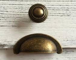 Antique Cabinet Door Pulls 2 75 Cup Bin Drawer Pulls Dresser Pull Handle Cabinet