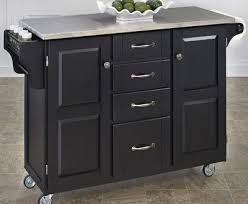 Black Kitchen Island With Stainless Steel Top | kitchen island stainless steel top decoration lofihistyle com