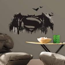 100 giant stickers for walls wall stickers xxl kids room giant stickers for walls roommates batman vs superman batman logo peel and stick giant wall