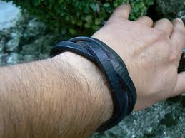 braided leather cuff bracelet images Mens leather cuff bracelet braided bracelet wide thick leather jpg