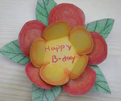 how to make a colourful flower birthday card 5 steps with pictures