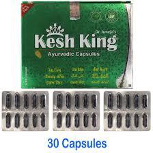kesh king ayurvedic capsules prevent hair loss premature greying