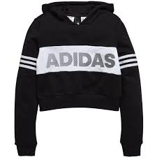 adidas crop top sweater adidas id cropped oth hoody 40 liked on polyvore