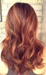 red copper highlights dark brown hair diy hair color and