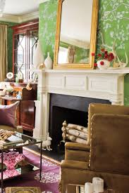 25 cozy ideas for fireplace mantels southern living elegant fireplace