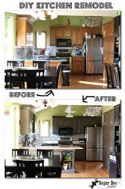 kitchen cabinet makeover ideas diy kitchen cabinet makeovers mforum