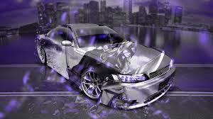 toyota custom cars toyota mark2 jzx90 jdm tuning anime samurai night city car 2017
