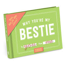 knock knock why you u0027re my bestie fill in the love journal knock