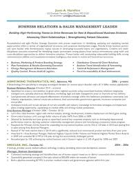 Sample Resume For Client Relationship Management by Executive Resume Samples