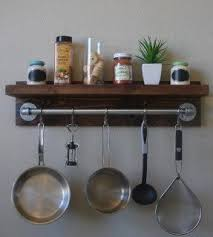 Wall Cabinet Spice Rack Hook Rack With Shelf Foter