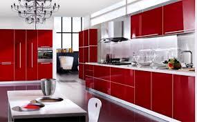 Red And Black Kitchen Ideas Kitchen Ideas Black Kitchen Design Dark Kitchen Cabinets Red And