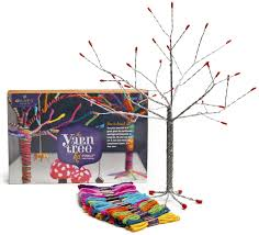 craft tastic yarn tree kit toys