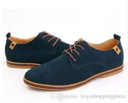 men shoes 2017 new blue black leather fashion casual mens italian