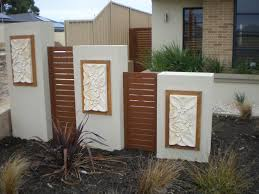 Wall Fencing Designs Home Design Ideas - Brick wall fence designs
