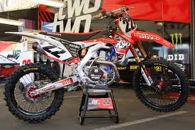 buy used motocross bikes honda crf 450 team two two motorsports chad reed supercross 2013