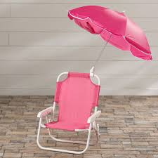 Kids Beach Chair With Umbrella Chairs Candy Kids Recliner With Cup Holder Soft Seating Comfort