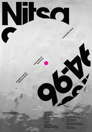 94 Best Theatre Caigns Images On Pinterest Behance Behavior - nitsa 94 96 el giro electrónico poster with typographic twists