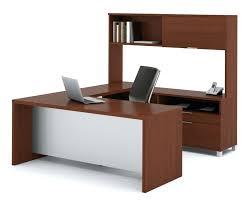 Cheap U Shaped Desk U Shaped Computer Desk With Hutch Desk Workstation Espresso U