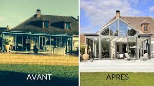 maison rénovée avant après avant après une nouvelle véranda pour rajeunir la maison