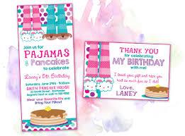 5th birthday party invitation birthday invitations u2013 printing by penny lane