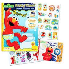 amazon sesame street elmo potty training book 2 books
