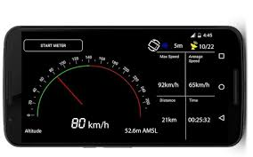 speedometer app android gps speedometer trip meter altimeter android apps on play