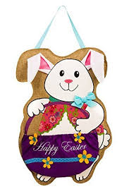 Easter Decorations Amazon by Burlap Easter Decorations Amazon Com