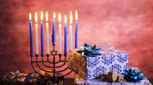 chanuka candles hanukkah beautiful chanukah decorations in blue and