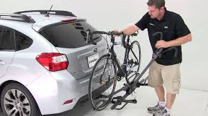 Subaru Forester 2014 Roof Rack by Review Of The Sportrack Ez Hitch Bike Rack On A 2012 Subaru