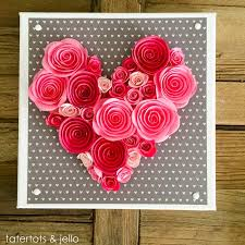 easy 10 minute valentine u0027s day wall art and free templates