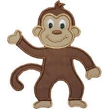 Monkey Sconces Free Monkey Applique Design Monkey Applique Design Crochet