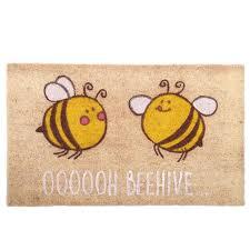 zerbino di cocco zerbino design api in fibra naturale di cocco