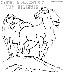 100 ideas spirit the stallion of the cimarron coloring pages on