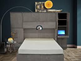 revolve denva cabinet bed modern family room calgary by