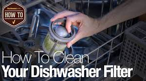How Does A Dishwasher Drain Work How To Clean Your Dishwasher Filter Reviewed Com Dishwashers