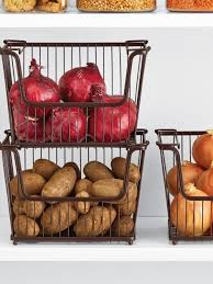 Best Storage Containers For Pantry - stylish walk in pantry potato onion storage onion storage