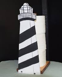 Extra Toilet Paper Holder Lighthouse Toilet Paper Storage Paper Towel Holder Free Standing