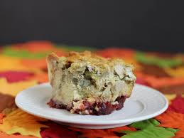cookistry thanksgiving bread pudding now with cranberries