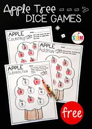 apple math dice games the stem laboratory