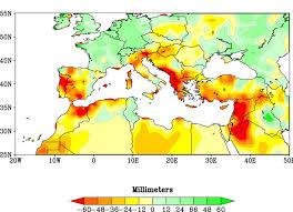 Map Mediterranean Turmoil Around The Mediterranean Shores Illustrates Urgency Of