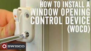 Ivess Lock by How To Install A Window Opening Control Device Wocd Kit Youtube