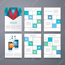 conceptmodern templates design set of web mail brochures mobile technology