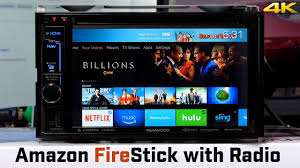 amazon fire tv stick with car stereo youtube