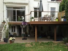 terrasse suspendue en bois terrasse suspendue à villeneuve d u0027ascq