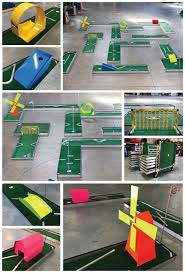 18 design and make my own miniature golf course carnival games